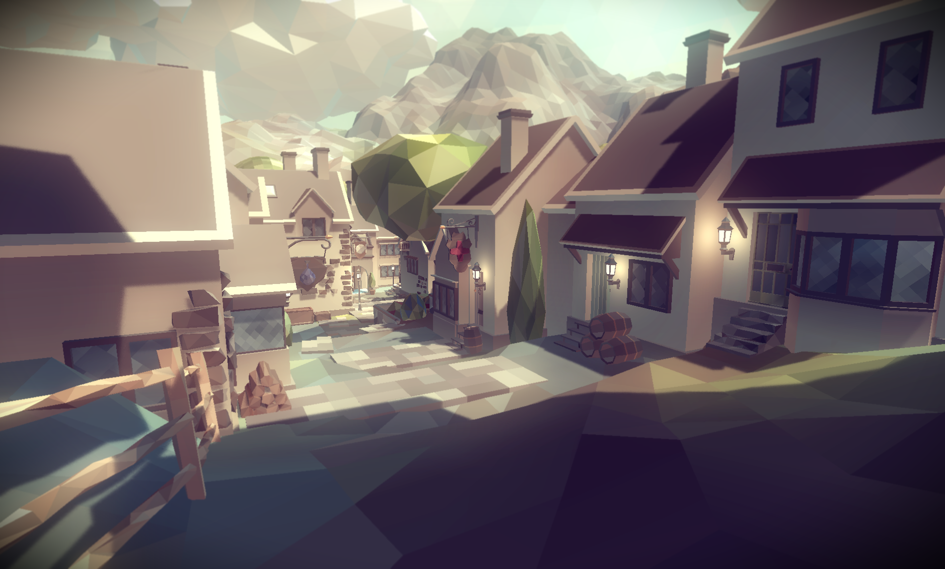 Polyworld Woodland Toolkit For The Unity Engine