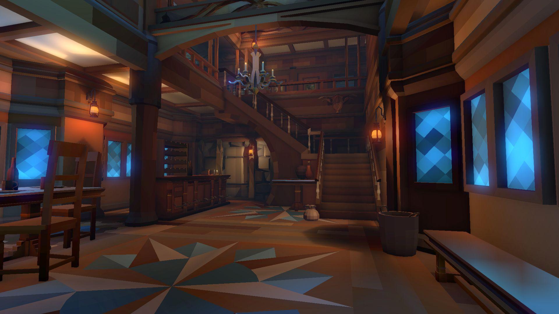 Fantasy Interiors Polyworld Low Poly Tools And 3d Art