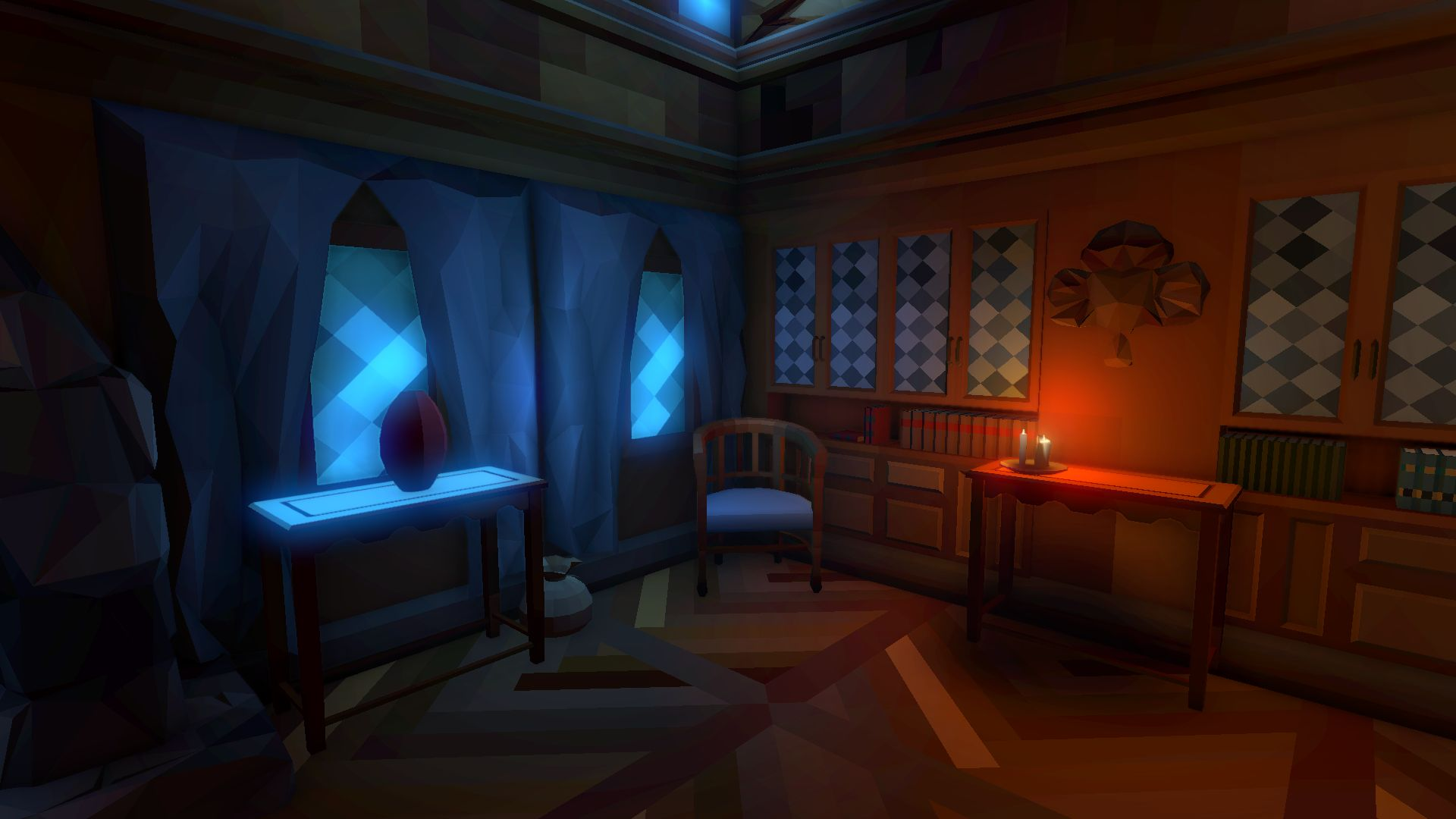 Fantasy Interiors Polyworld Low Poly Tools And 3d Art